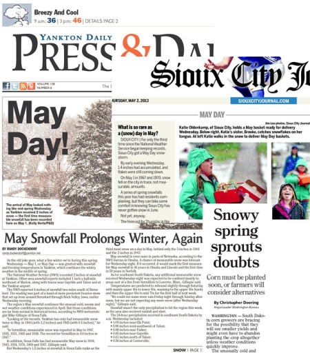 Papers on May Snow