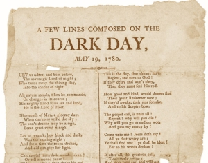A Dark Day Poem