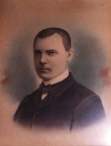 Herman Lentz as a younger man.