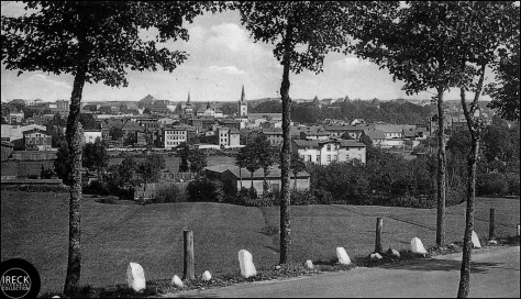 The city of Bütow in 1936, where my  great grandparents were married in 1887.