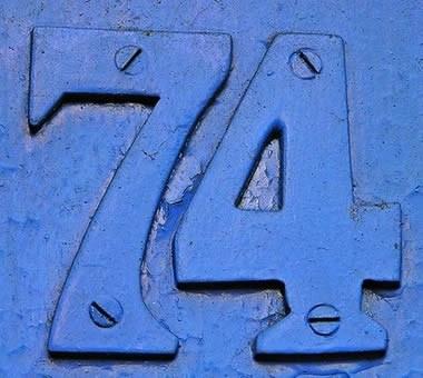 My lucky number is 74 too!\u201d | AARON HILL\u0027S NOTEBOOK