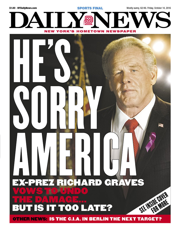 New York Daily News Cover: I'm Gonna Miss The Wacko Crazy, Hard Left Covers Of The NY